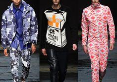 London Menswear Autumn/Winter 2014   Print Highlights Part 2 catwalks -Christopher Shannon – Fall 2014