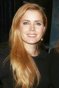 5 Summer Hair Color Ideas That Aren't Bad Ombrés - - Strawberry Blonde: Amy Adams Ginger Blonde Hair, Strawberry Blonde Hair Color, Brown Blonde Hair, Blonde Color, Copper Blonde Hair, Blonde Ombre, Ombre Hair, Amy Adams Hair, Short Red Hair