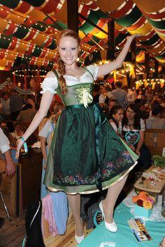 Barbara Meier in Limberry - Oktoberfest 2012