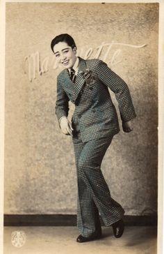 Ashihara Kuniko (in color) Tomboy Look, Drag King, Suffragette, Genderqueer, Gender Bender, Vintage Photos, Vintage Portrait, Butches, Androgyny