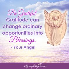 The simple act of being grateful can change your entire life. I know, it happened for me.   ~ Karen Borga, The Angel Lady