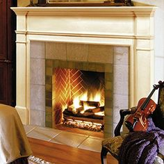 pearl mantels windsor 48inch fireplace mantel surround unfinished click on the image for additional