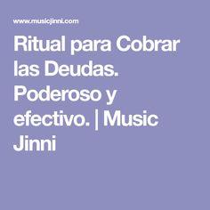 Ritual para Cobrar las Deudas. Poderoso y efectivo. | Music Jinni