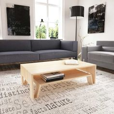 Mesa Centro MC20 / Felipe Arriagada Couch, Table, Furniture, Home Decor, Centerpieces, Mesas, Wood, Interiors, Home