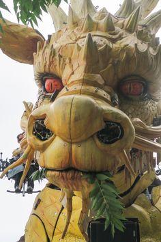 La dragonne LONG MA sur le Parc des Chantiers, avec les Machines de l'Île ! (Août 2015) [NANTES, Loire-Atlantique, Pays de la Loire, FRANCE] ©chilirv photos on Flickr