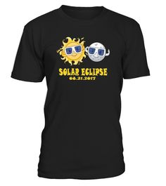 Are you watching the Eclipse this summer? Get your Souvenir today. Also makes a great family gift to give to those watching with you!   For a more loose fit, please order a size up. This graphic tshirt makes the perfect present for that special someone in your life. friends, family, niece, nephew. Sizes for Men, Women, Boys and Girls!!