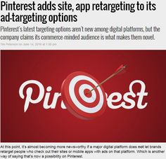 Pinterest adds site, app retargeting to its ad-targeting options