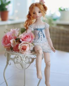 Image may contain: 1 person Clay Dolls, Bjd Dolls, Doll Home, Victorian Dolls, Anime Dolls, Madame Alexander Dolls, Paperclay, Soft Dolls, Ball Jointed Dolls