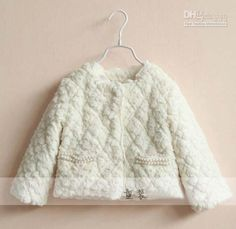 Wholesale Children's Jackets - Buy Winter Jackets Kids Clothing Girls Cute Pearl Lace Princess Coat Kids Jacket Children Outwear Long Sleeve Coat Girl Clothes Casual Jackets, $21.05 | DHgate