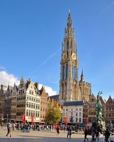 La Cathédrale de Notre-Dame, Antwerp, Belgium