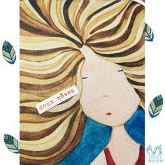 Ces aquarelles signées MAMA DOUCE sont des petits instantanés de vie reproduits par impression Jet-d'encre sur de beaux papiers. Le Jolie, Mini, Jet, Creations, Painting, Water Colors, Ink, Impressionism, Cards
