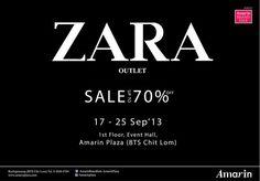 ZARA Thailand ลดราคา ZARA OUTLET ลดสูงสุด 70%