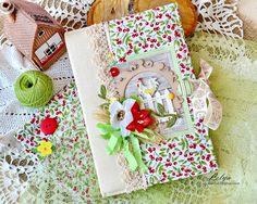 Vintage Cafe Card Challenge: Тематическое задание: GardenBook.... / Садовый блокнот