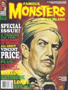 Famous Monsters Of Filmland #203 with Vincent Price
