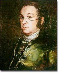 Goya. Autorretrato. H.1797. Museo de Goya, Castres.