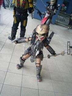 Predator kid! Parenting, you're doing it right!