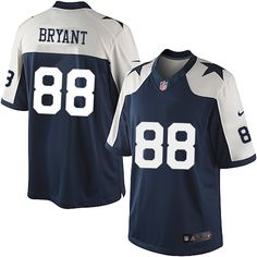 4a1b863ee Men's outlet Nike #88 Dez Bryant Limited Navy Blue Throwback Alternate NFL Dallas  Cowboys Jersey