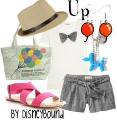 Disney Inspired Outfits- Up
