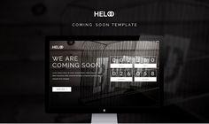 Heloo - HTML Coming Soon Template