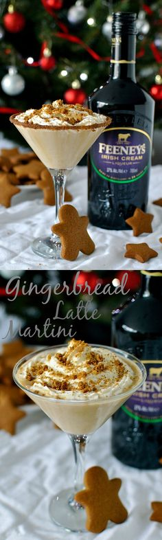 Gingerbread latte martini made with Feeney's Irish Cream and homemade gingerbread syrup; the ideal Christmas cocktail! Gingerbread latte martini made with Feeney's Irish Cream and homemade gingerbread syrup; the ideal Christmas cocktail! Christmas Cocktails, Holiday Cocktails, Cocktail Drinks, Cocktail Recipes, Cocktail Ideas, Party Drinks, Christmas Martini, Christmas Cocktail Party, Irish Cream