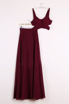 2 piecce prom dresses, burgundy prom dresses, dresses for women, womens prom dresses