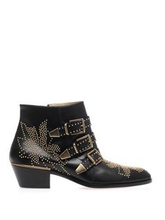Susannah studded leather ankle boots ... Chloé...very similar to my Clarks ones