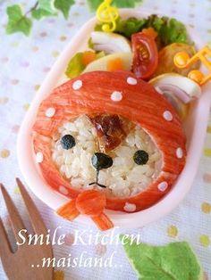 """San-X """"Kireizukin"""" Raccoon Kyaraben Bento Lunch by Mai Mai"""