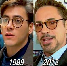 Robert Downey Jr. - He barely freaking ages! Lol