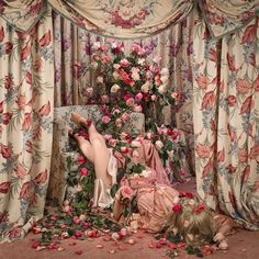Patty Carroll: Domestic Demise | AnOther Painting Inspiration, Art Inspo, Madona, Nocturne, Up Girl, Pink Aesthetic, American Artists, Art Direction, Decoration