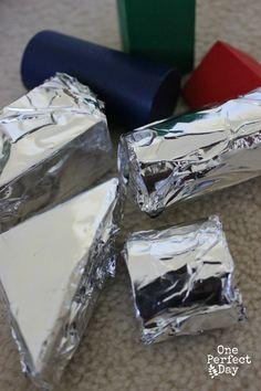 Add aluminum covered blocks in the block corner during frozen study