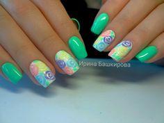 Gigi Nails, Easter Nails, Autumn Nails, Beautiful Nail Art, Nail Polish, Nail Nail, Summer Nails, Fun Nails, Nail Colors