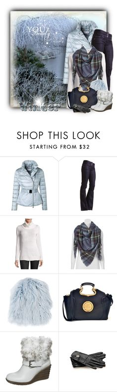 """""""Frosty Winter"""" by daiscat on Polyvore featuring ESCADA, DEPT, On the Road, Apt. 9, MATE the Label, Dasein, Anna Field and Gucci"""