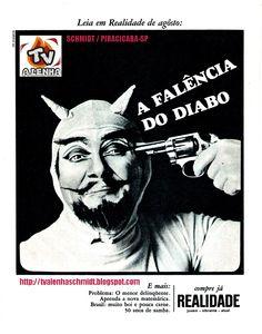 PROPAGANDA ANTIGA - REVISTA REALIDADE / BRASIL