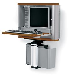 Anthro eNook Wall-Mount Workstation- great for doctor's offices or warehouse use.