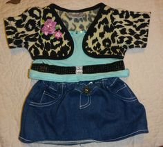 Smart Build a Bear Outfit Animal Clothes, Pet Clothes, Build A Bear Outfits, Teddy Bear Clothes, Shop Justice, Beanie Boos, Stuffed Animals, Plushies, Workshop