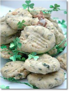 St Patricks Day Dog Cookie Recipe *white flour *chicken *oil *spinach *milk