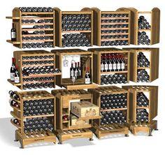 Cute! Easy to DIY over a weekend. #wine #SouthAfrica http://www.winewizard.co.za/