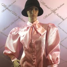 A personal favorite from my Etsy shop https://www.etsy.com/listing/464730001/new-womens-satin-victorian-blouse-with