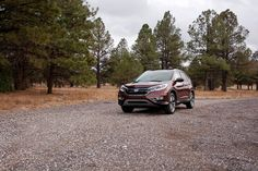 Nothing but the horizon and the road ahead of you and your 2015 CR-V.