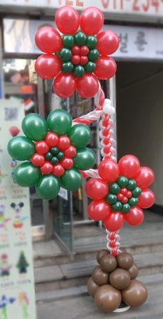 Birthday Balloon Decorations, Balloon Crafts, Flower Decorations, Balloon Columns, Balloon Arch, Christmas Crafts, Christmas Decorations, Xmas, Balloon Stands
