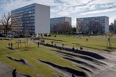 Chroniques d'Architecture | Le pli, à Meyrin, c'est l'enfance de l'art