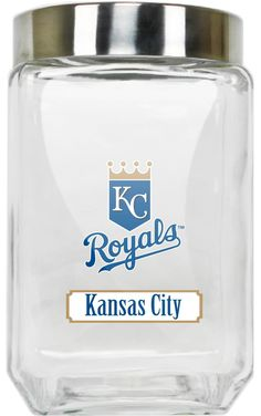 Kansas City Royals Glass Canister - Large