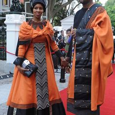 Xhosa Swag, Mandla Mandela and Wife