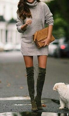Stuart Weitzman - Lowland I have yet to see someone who these boots aren't flattering on. Even for petites.