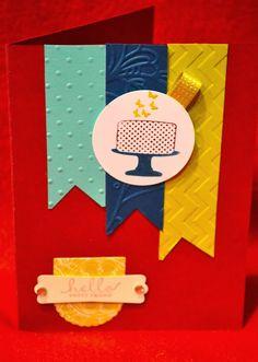Make a Cake stamp set--Stampin' UP