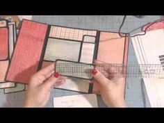 Scrapbook folder folio -Smaller version - YouTube