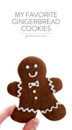 Gingerbread Cookies -- my all-time favorite recipe for these classic Christmas cookies!   gimmesomeoven.com