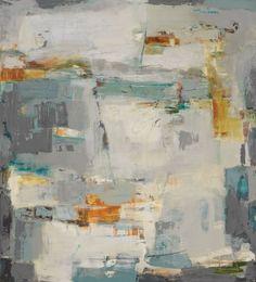 "Cliffhanger IV---70"" x 62""---Acrylic on Canvas"
