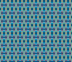 Primaries knit fabric by designed_by_debby on Spoonflower - custom fabric