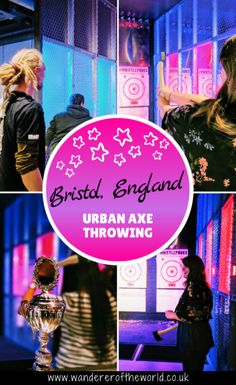 A new craze has come to Bristol - urban axe throwing! Here's everything you need to know about urban axe throwing in Bristol. Lumberjack Competition, Amazing Destinations, Travel Destinations, Unique Date Ideas, Bristol England, Travel Couple, Romantic Travel, Axe, Where To Go